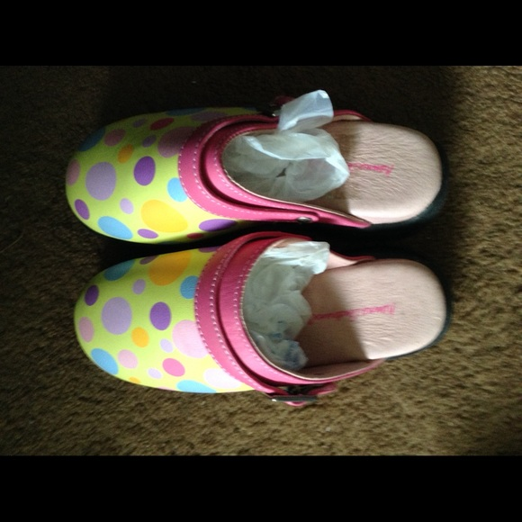 Hanna Andersson Other - Hanna Andersson Summer Clogs Size 31 12.5-13